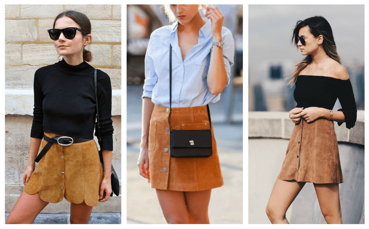 6 Ways To Wear A Button Front Skirt Like A Fashionista ...