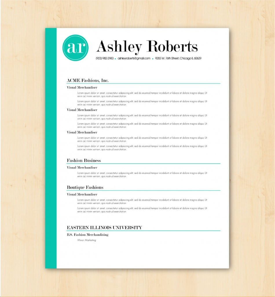 ashley roberts - How To Make Resume Template