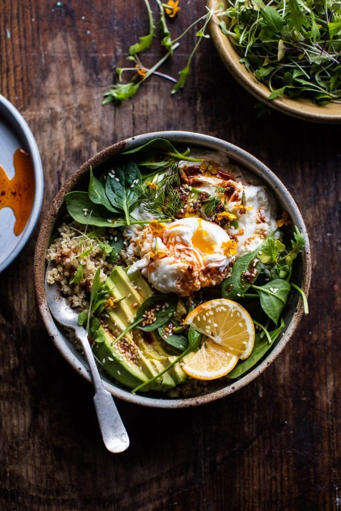 10 easy meals you can make for one person career girl daily 4 turkish egg and quinoa bowl forumfinder Images